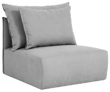 Dune Armless Sofa modern-sofas