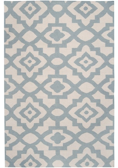 Candice Olsen Market Place Geometric Parchment Hand Woven Wool Rug mediterranean-rugs