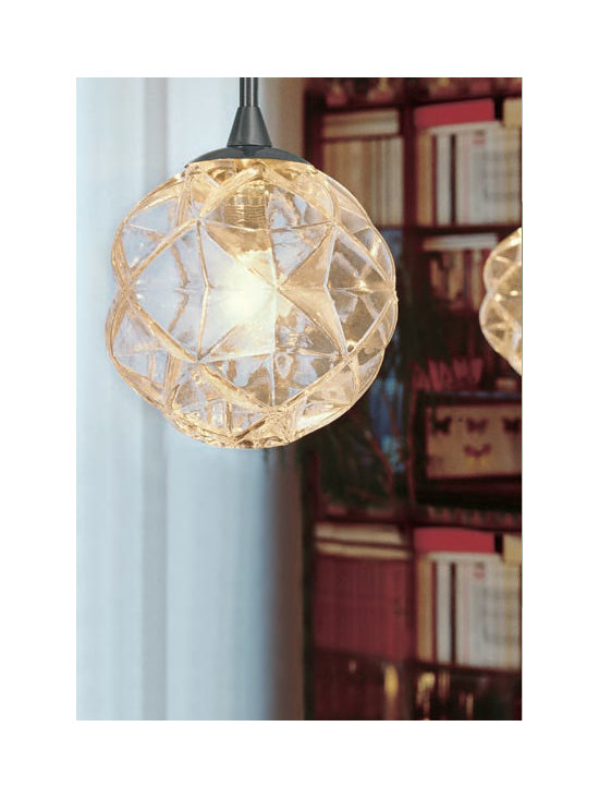 PLANET PENDANT LAMP BY PENTA LIGHT - The Planet pendant from Penta is a multi-dimensional