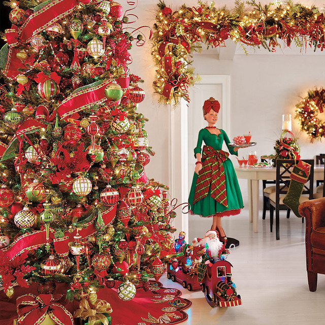 60 Pc Glad Tidings Ornament Collection Traditional