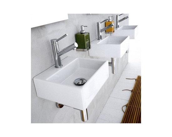 Linea Sink Ceramica II by WS Bath Collections Model Quarelo 53706 -