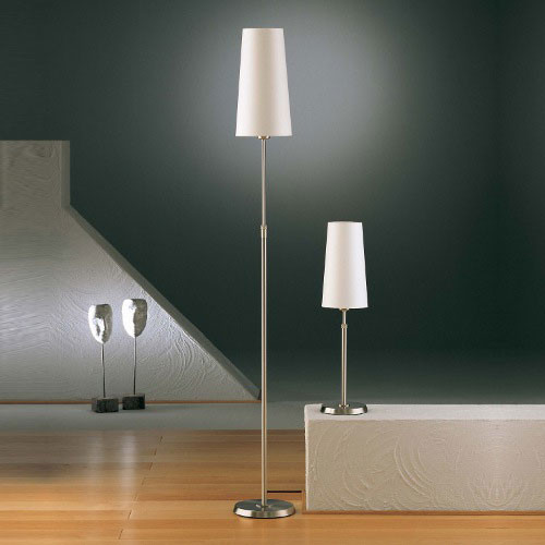 Illuminator Narrow Shade Adjustable Floor Lamp - Modern ...