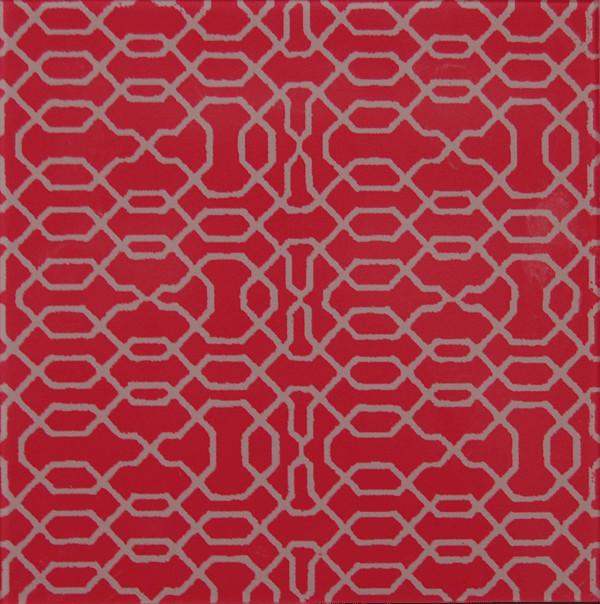Motif glass tile