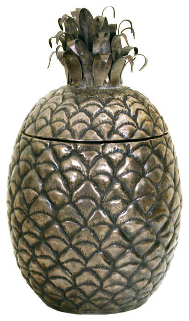 Carillon Silver Pineapple Ice Bucket tropical-ice-tools-and-buckets