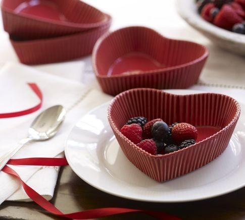 Heart Dessert Dish modern-serveware