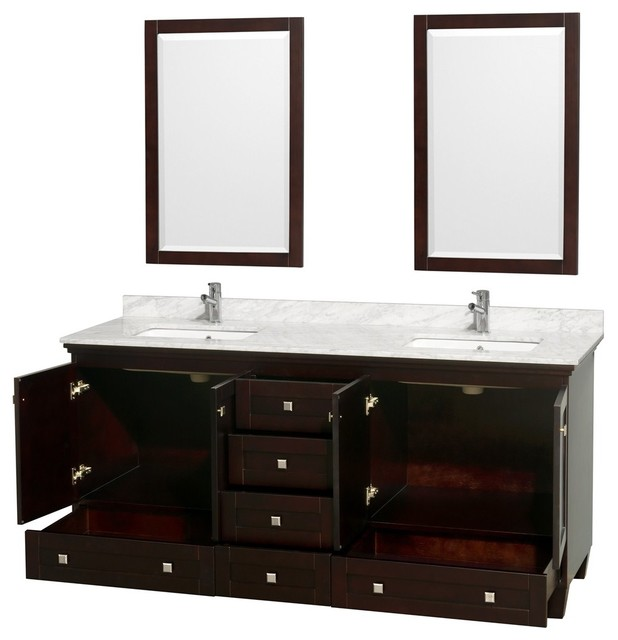 Acclaim Contemporary Bathroom Vanities contemporary bathroom vanities and sink consoles