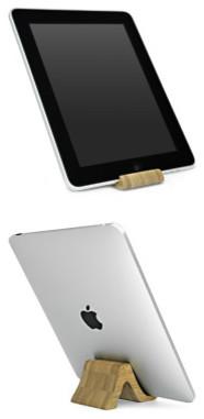Bamboo iPad Stand modern-home-electronics