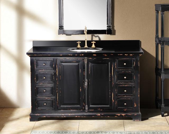 Filename: traditional-bathroom-vanities-and-sink-consoles.jpg - Antique Black Vanity Images - Reverse Search