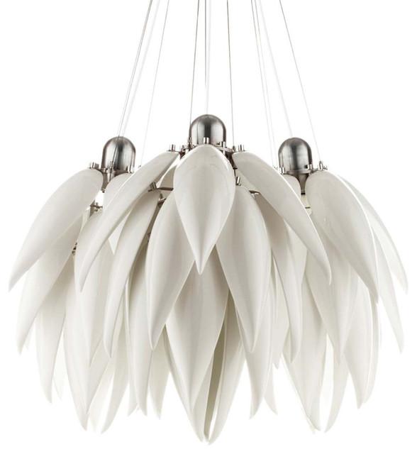 Jeremy Cole Aloe Bud Multi Suspension Lamp modern-chandeliers