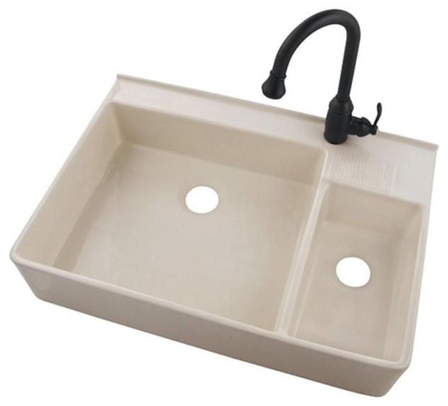 Belle Forêt  Kitchen Sink traditional-kitchen-sinks