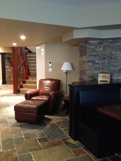 Basements traditional-basement