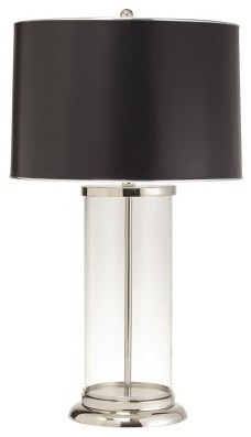 Kichler Oversized Glass Column Table lamp modern table lamps