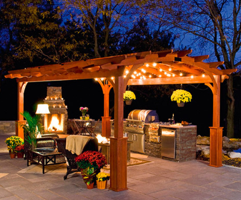 Hearthside Pergola - traditional - outdoor products - boston - by ...