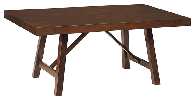 standard omaha trestle table contemporary dining tables by