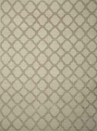 Quatrefoil- Mist contemporary-rugs