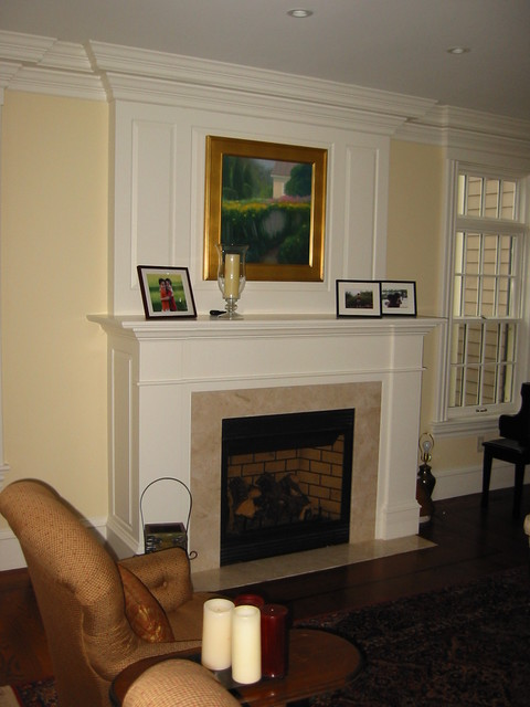 Custom designs for Indoor fireplace design