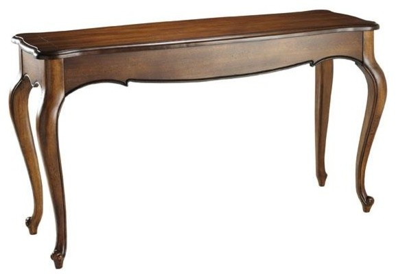 Provence console table chestnut traditional side tables and end tables by home decorators Traditional coffee tables and end tables