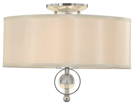 Golden Lighting Modern Two-Light Flush Mount Ceiling Fixture contemporary ceiling lighting