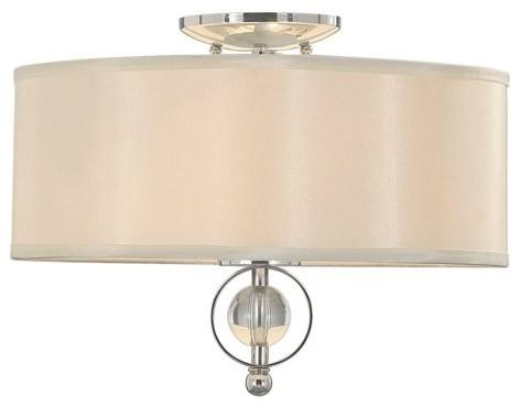 Golden Lighting Modern Two-Light Flush Mount Ceiling Fixture contemporary-ceiling-lighting