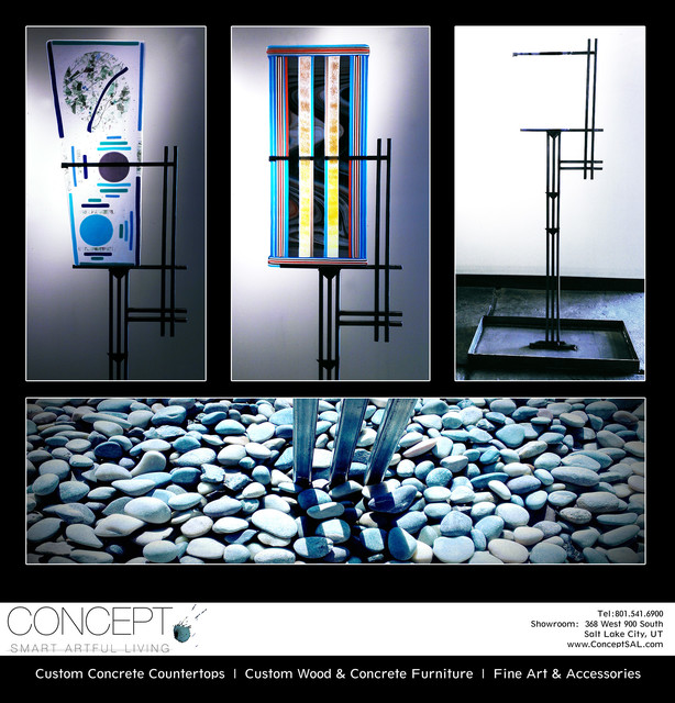 Glass & Steel Sculpture @ Concept asian-originals-and-limited-editions