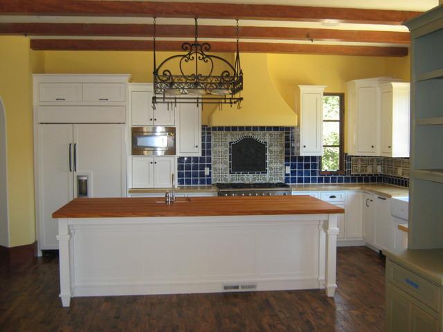 Spanish Custom Home | Via Builders Inc mediterranean-kitchen