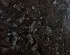 Leathered Antique Brown Granite contemporary kitchen countertops