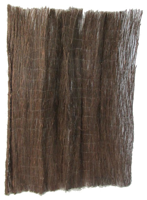 Heather Brushwood Fence, 14'l X 4'h rustic-home-fencing-and-gates