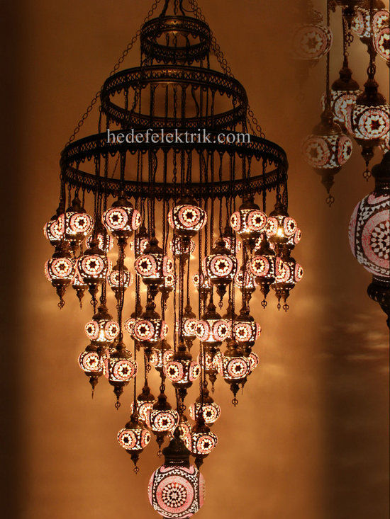 Turkish Style - Mosaic Lighting - Code: HD-04161_16