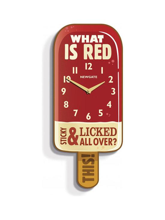 Ice Lolly Clock -