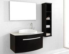 Floating Bathroom Vanities contemporary-bathroom-vanities-and-sink-consoles