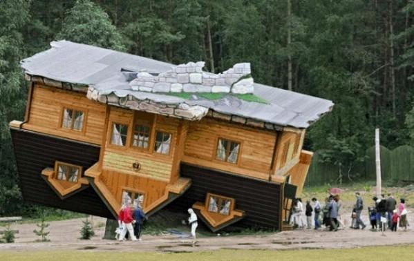 Daniel Czapiewski S Upside Down House Szymbark Poland