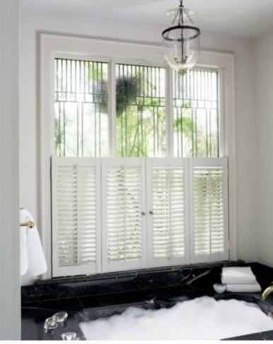 Custom Smith + Noble window treatments traditional-window-blinds