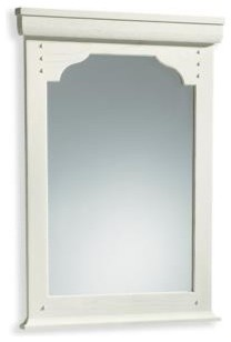 KOHLER K-2453-F8 Ballard Mirror in Seashell traditional bathroom mirrors