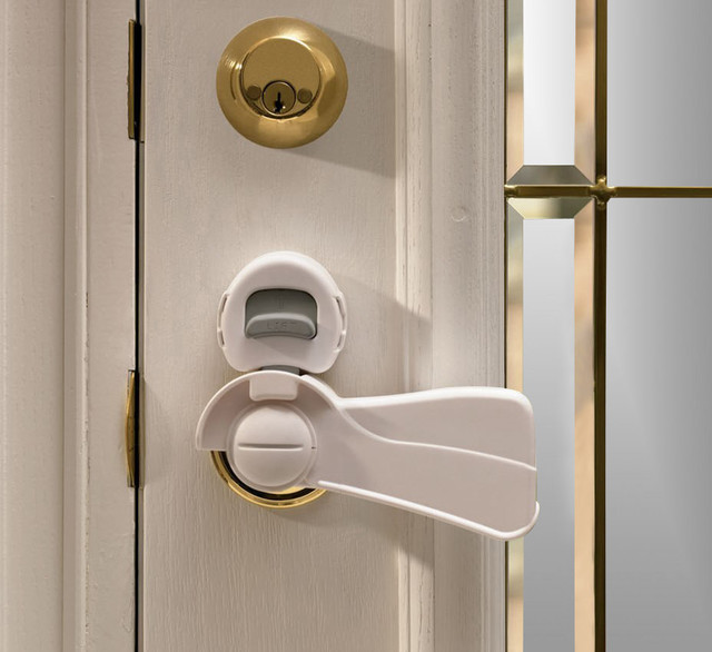 KidCo Door Lever Lock - Tropical - Baby Gates And Child Safety - by KidSafe Home Safety Products