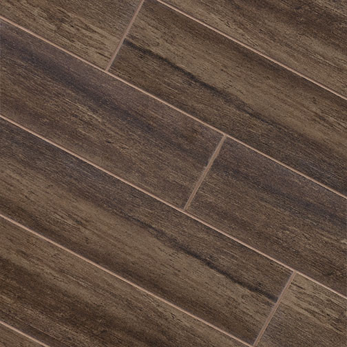 Walnut Wood Plank Porcelain Modern Wall And Floor Tile Other Metro By Tile Stones