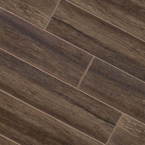 Walnut Wood Plank Porcelain Modern Wall And Floor Tile Other - Plank Tile Flooring