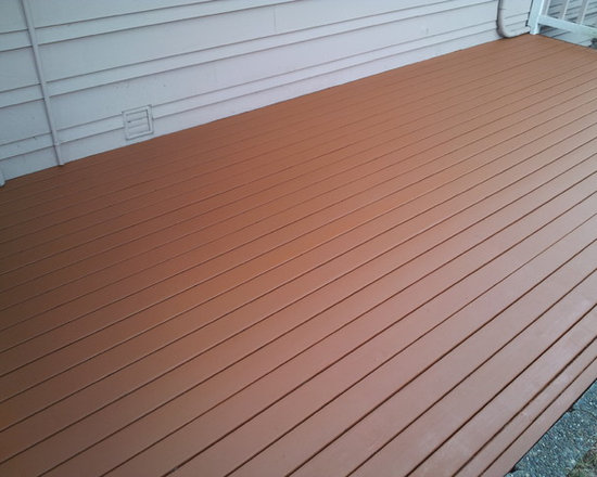 Hidden deck screw system. -
