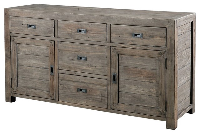 Parsons Sideboard Buffet 61 SAsh Rustic Buffets And Sideboards