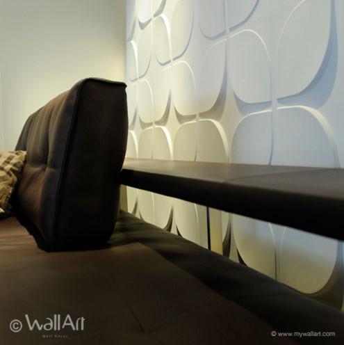 Project in interior design showroom modern-wallpaper