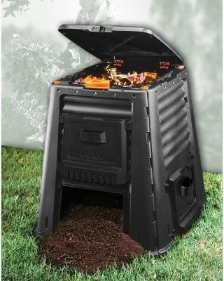 Super Composter 115 Gallon Resin Compost Bin modern-kitchen-trash-cans