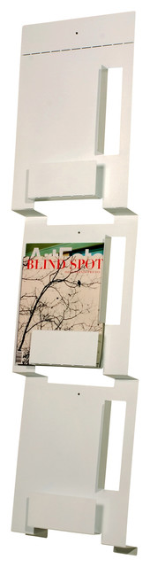 Blu Dot 2D:3D Wall Magazine Rack modern-media-storage