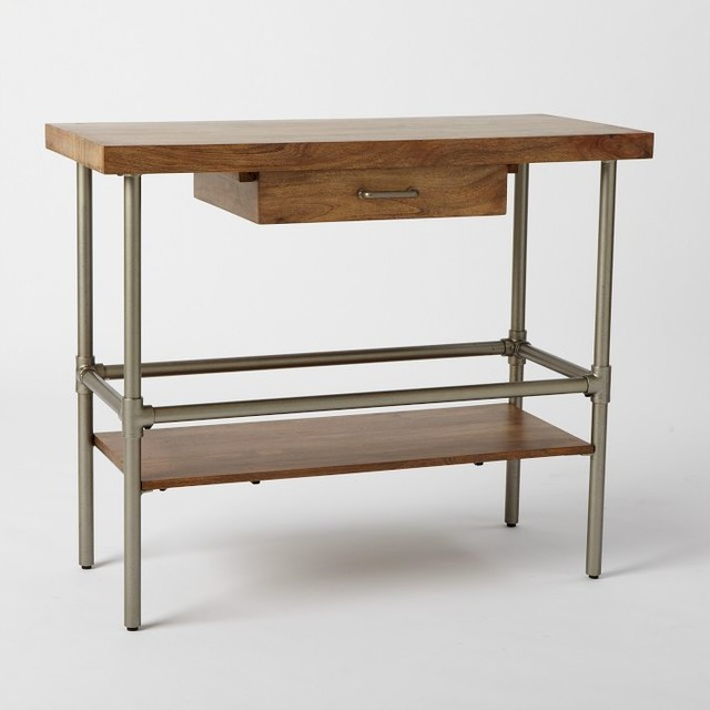 Industrial Kitchen Island Industrial Kitchen Islands And Kitchen Carts By West Elm