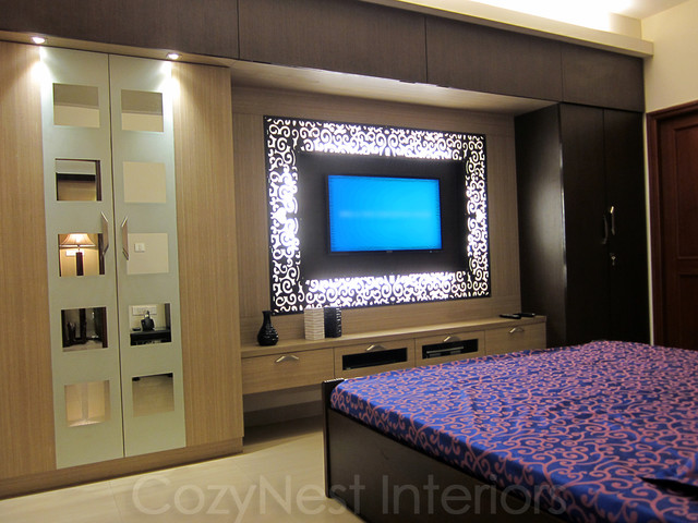 Bharani Residence Contemporary Bedroom
