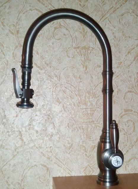 waterstone 5500 traditional pull faucet new