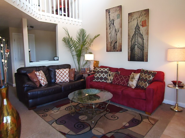 Red and brown living room ideas for Red and brown living room furniture