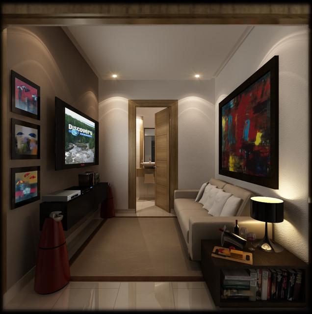 Downtown Santo Domingo Real Estate development tropical-family-room