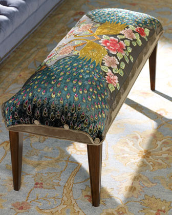 Haute House-Peacock Bench traditional-benches