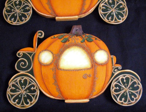 Cinderella Pumpkin Carriage And Garlic Mice For Halloween Oh So Yummy