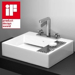 Deca UL 87 17 Concealed Waste Slab Basin Drain Assembly Included - No hole (21 5 bathroom-sinks