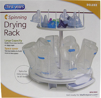 Spin and Store Drying Rack contemporary-baby-and-kids